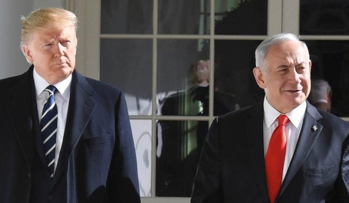 POTUS Trump and PM Netanyahu at the White House (3)