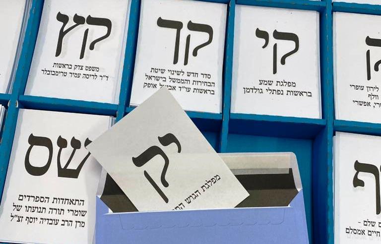 Knesset-Wahlen und ein Super-Tanker