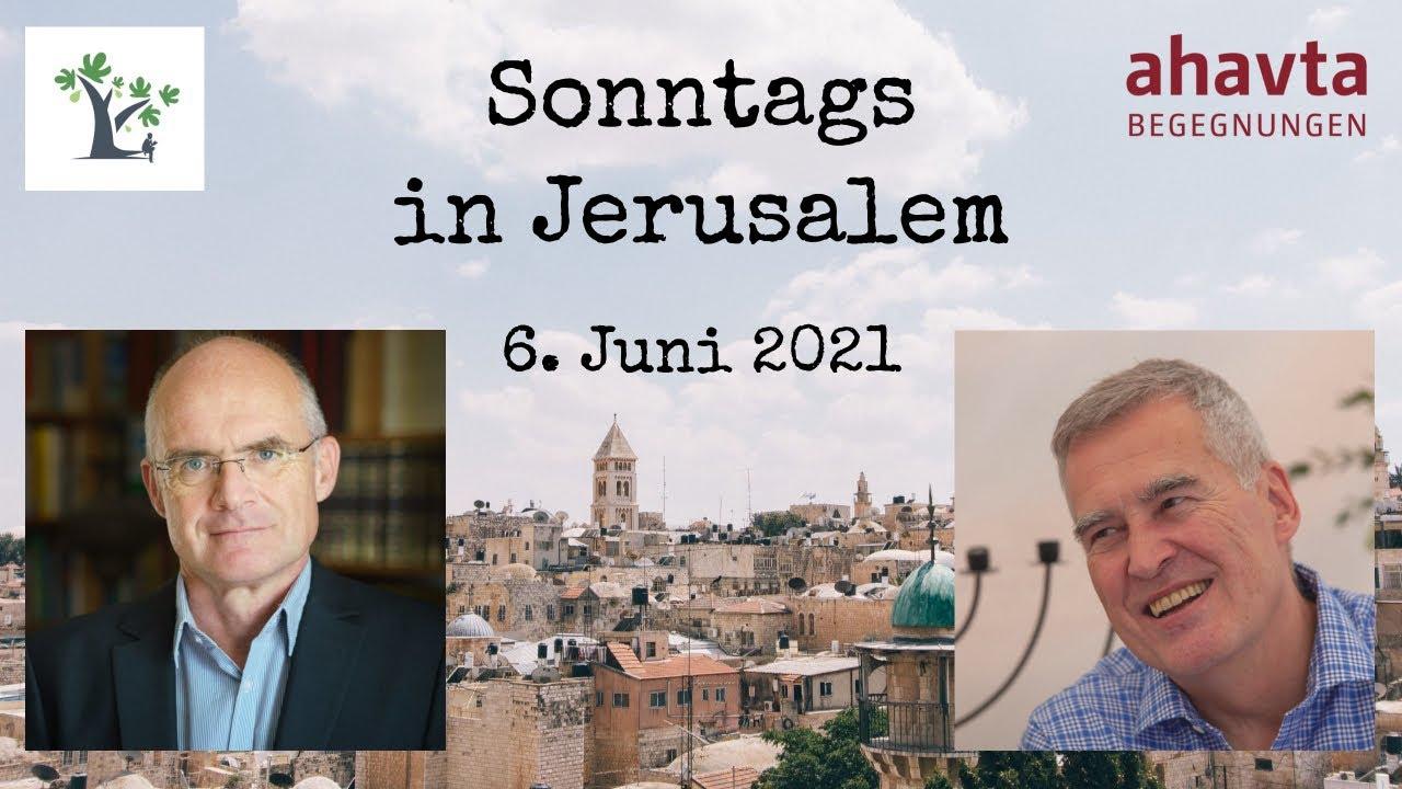 """Sonntags in Jerusalem: """"Die Zweistaatenlösung"""""""