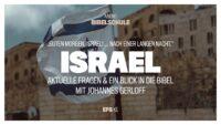 Die Podiumsdiskussion: Guten Morgen, Israel! …. nach einer langen Nacht