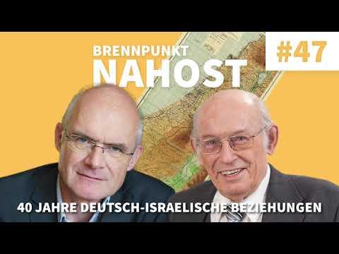 40 Jahre deutsch-israelische Beziehungen